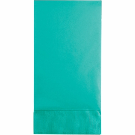 Teal Lagoon Guest Towels 192 ct