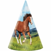 Wild Horse Party Hats 48 ct