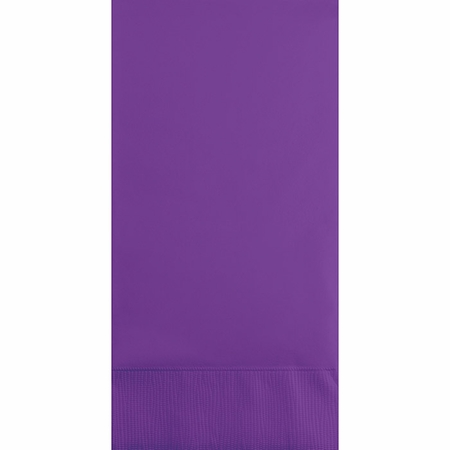 Amethyst Purple 3 Ply Guest Towels 192 ct