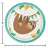Sloth Party Dessert Plates 96 ct