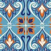 Moroccan Tile Luncheon Napkins 192 ct