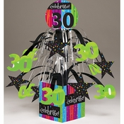 Milestone Celebrations 30th Birthday Centerpieces 6 ct