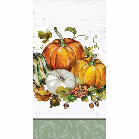 Bountiful Cornucopia Guest Towels 192 ct