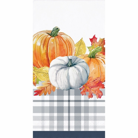 Thanksgiving Elegance Guest Towels 192 ct
