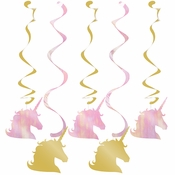 Sparkle Unicorn Dizzy Danglers 30 ct