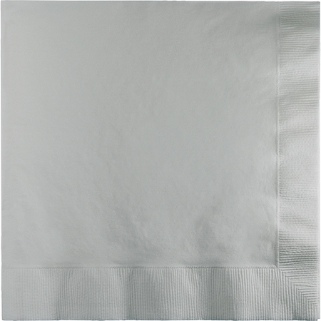 Shimmering Silver 2 Ply Luncheon Napkins 900 ct