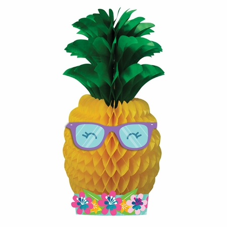 Pineapple Party Centerpieces 12 ct