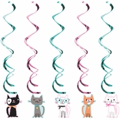 Cat Party Dizzy Danglers 30 ct