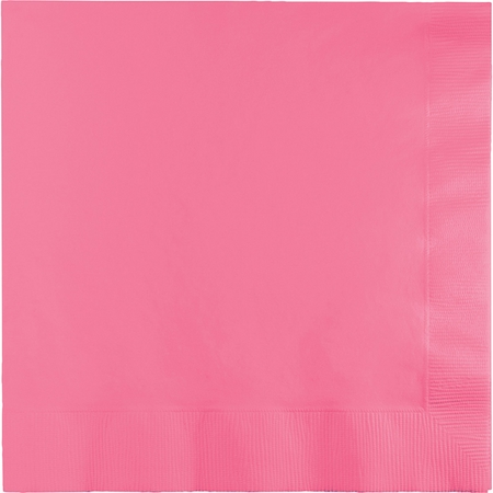 Candy Pink Luncheon Napkins 3 ply 500 ct
