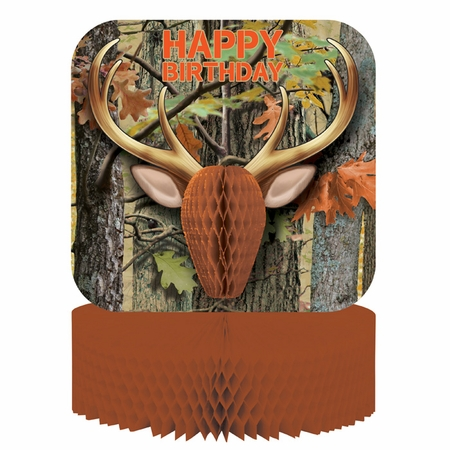 Hunting Camo Centerpieces 6 ct