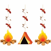 Camping Hanging Cutouts 36 ct