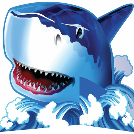 Shark Splash Centerpieces 6 ct