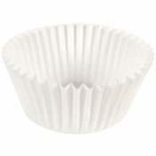 """White Fluted Baking Cups - 3.5"""" 2,000 ct."""