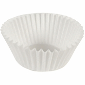 """White Fluted Baking Cups -3.25"""" 10,000 ct."""