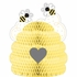 Bumblebee Baby Shower Centerpieces 6 ct