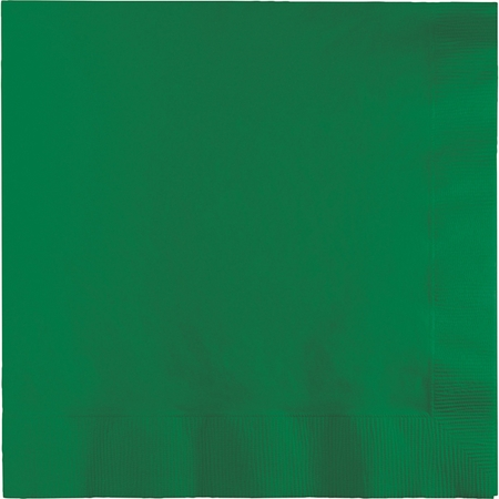 Emerald Green Luncheon Napkins 3 ply 500 ct