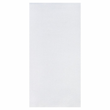 White FashnPoint Ultra Ply Guest Towel in quantities of 100 / pkg, 6 pkgs / case