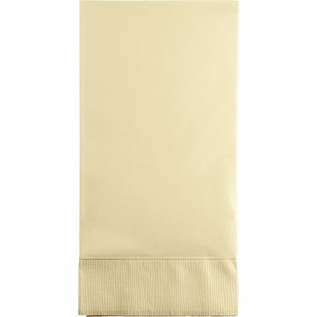 Touch of Color Ivory 3 Ply Guest Towels in quantities of 16 / pkg, 12 pkgs / case