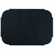 "Black 9.75"" x 14"" Decorator Placemat in quantities of 1000 / case"