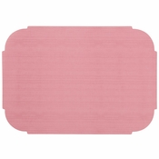 "Dusty Rose 9.75"" x 14"" Decorator Placemat in quantities of 1000 / case"