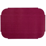"Burgundy 9.75"" x 14"" Decorator Placemat in quantities of 1000 / case"