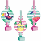 Pineapple Party Party Blowers 48 ct