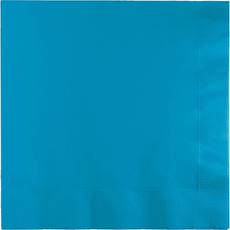 Turquoise Luncheon Napkins 3 ply 500 ct