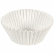 """White Fluted Baking Cups - 4.5"""" 2,000 ct."""