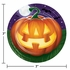 Glowing Pumpkins Dessert Plates 96 ct