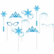 Snow Princess Photo Booth Props 60 ct