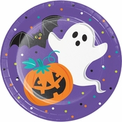 Friends of Halloween Dinner Plates 96 ct