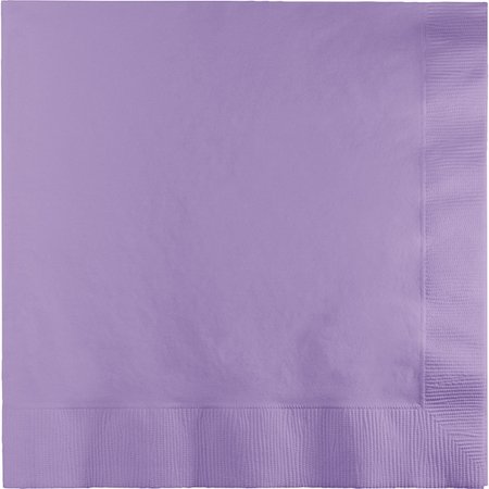 Luscious Lavender Luncheon Napkins 3 ply 500 ct