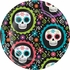 Day of the Dead Dessert Plates 96 ct