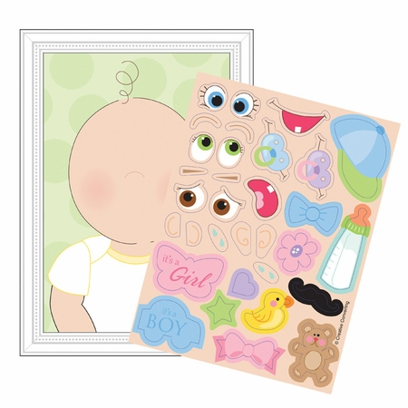 This Baby Looks Like.. Baby Shower Games 48 ct