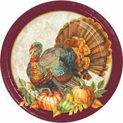 Traditional Turkey Dinner Plates 96 ct