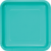 Teal Lagoon Dinner Plates 180 ct