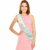 Mint to Be Bride to Be Sashes 12 ct