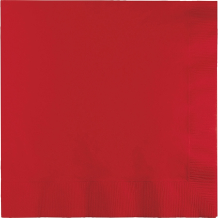 Classic Red Dinner Napkins 3 Ply 250 ct