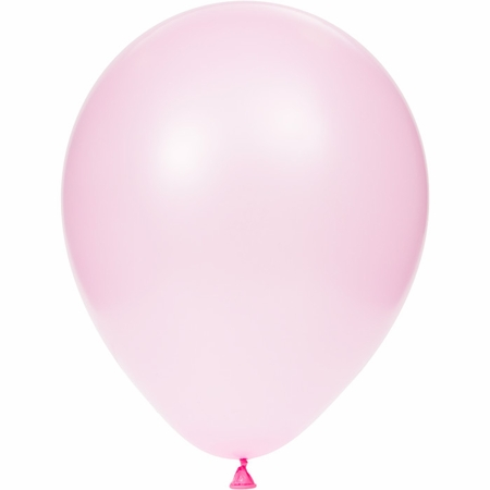 Pink Latex Balloons sold in quantities of 15 / pkg, 12 pkgs / case