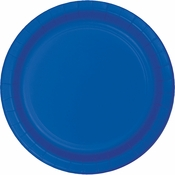 Cobalt Blue Dinner Plates 96 ct