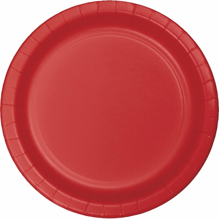 Classic Red Dinner Plates 96 ct