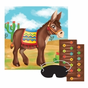 Pin the Tail on the Donkey Games 12 ct