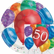 Balloon Blast 50th Birthday Party Supplies