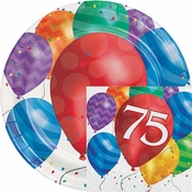 Balloon Blast 75th Birthday Party Supplies
