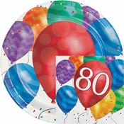 Balloon Blast 80th Birthday Party Supplies
