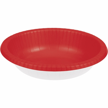 Classic Red Paper Bowl