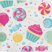 Candy Bouquet Beverage Napkins 192 ct
