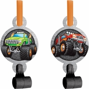 Monster Truck Party Blowers 48 ct