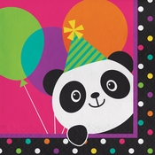 Panda-monium Luncheon Napkins 192 ct