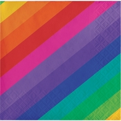 Rainbow Beverage Napkins 192 ct